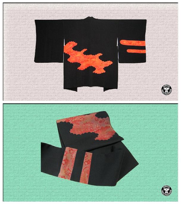 羽織から帯collage1